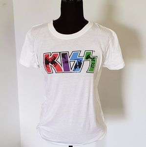 KISS T-shirt by Tultex